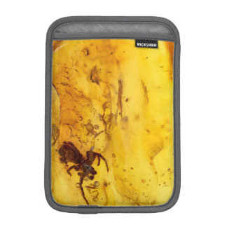 Spider inside baltic amber stone iPad mini sleeve