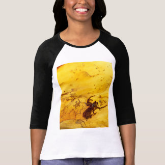 Spider inside baltic amber stone T-Shirt