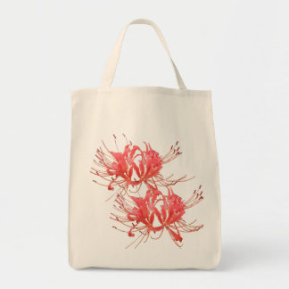 Spider Lily Shopper Tote Bag