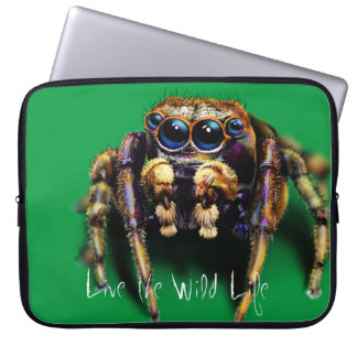 Spider - Live the Wild Life / Laptop Sleeve