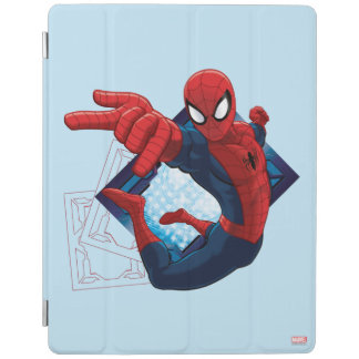 Spider-Man Action Character Badge iPad Cover