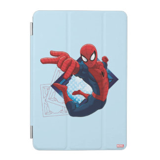Spider-Man Action Character Badge iPad Mini Cover