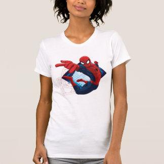 Spider-Man Action Character Badge T-Shirt
