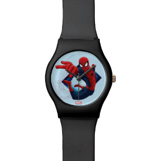 Spider-Man Action Character Badge Wristwatch