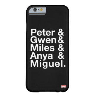 Spider-Man Alternates Ampersand Graphic Barely There iPhone 6 Case