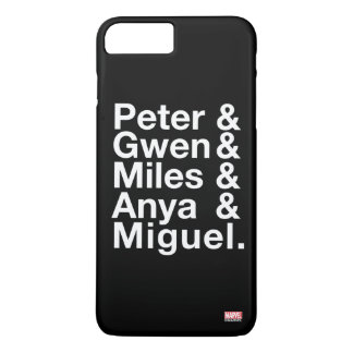 Spider-Man Alternates Ampersand Graphic Case-Mate iPhone Case