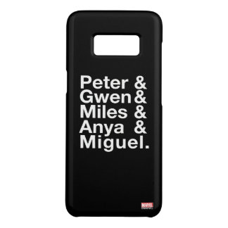 Spider-Man Alternates Ampersand Graphic Case-Mate Samsung Galaxy S8 Case