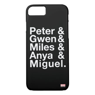 Spider-Man Alternates Ampersand Graphic iPhone 8/7 Case