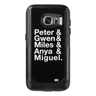 Spider-Man Alternates Ampersand Graphic OtterBox Samsung Galaxy S7 Case