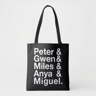 Spider-Man Alternates Ampersand Graphic Tote Bag