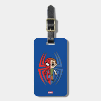 Spider-Man and Peter Parker Dual Identity Bag Tag