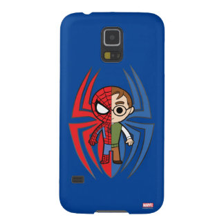 Spider-Man and Peter Parker Dual Identity Galaxy S5 Cover
