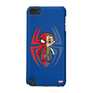 Spider-Man and Peter Parker Dual Identity iPod Touch 5G Cases