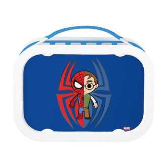 Spider-Man and Peter Parker Dual Identity Lunchbox