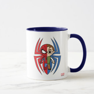 Spider-Man and Peter Parker Dual Identity Mug