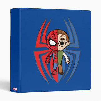 Spider-Man and Peter Parker Dual Identity Vinyl Binder
