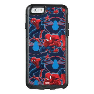 Spider-Man and Spider Logo Pattern OtterBox iPhone 6/6s Case