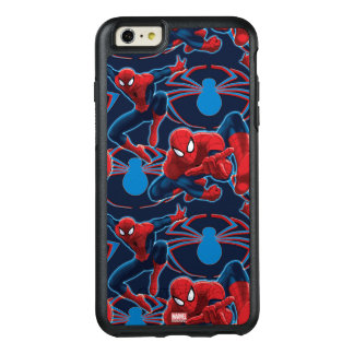 Spider-Man and Spider Logo Pattern OtterBox iPhone 6/6s Plus Case
