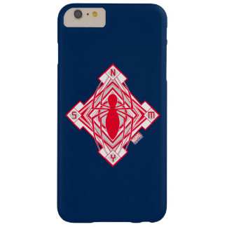 Spider-Man Art Deco NY Emblem Barely There iPhone 6 Plus Case