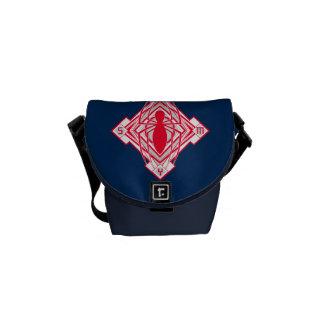 Spider-Man Art Deco NY Emblem Courier Bags