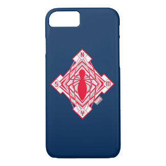 Spider-Man Art Deco NY Emblem iPhone 7 Case