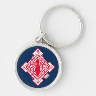 Spider-Man Art Deco NY Emblem Keychain