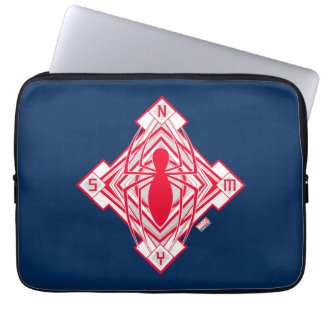 Spider-Man Art Deco NY Emblem Laptop Sleeve
