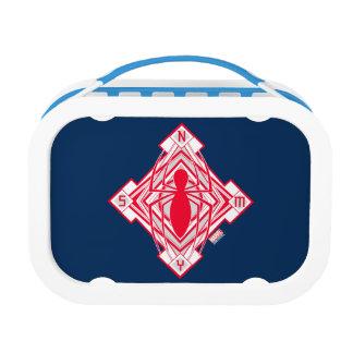 Spider-Man Art Deco NY Emblem Lunch Boxes