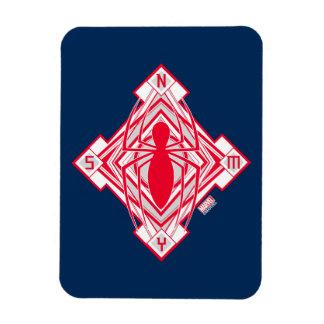 Spider-Man Art Deco NY Emblem Magnet