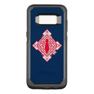 Spider-Man Art Deco NY Emblem OtterBox Commuter Samsung Galaxy S8 Case