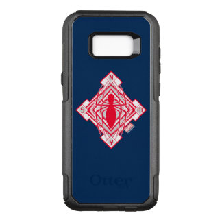 Spider-Man Art Deco NY Emblem OtterBox Commuter Samsung Galaxy S8+ Case