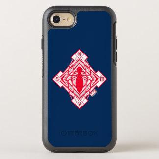 Spider-Man Art Deco NY Emblem OtterBox Symmetry iPhone 8/7 Case