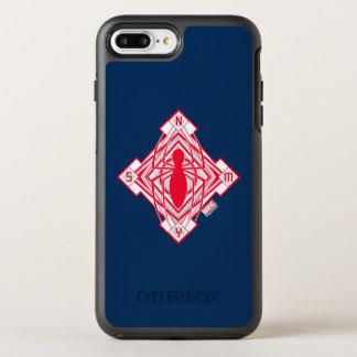 Spider-Man Art Deco NY Emblem OtterBox Symmetry iPhone 8 Plus/7 Plus Case