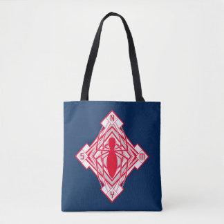 Spider-Man Art Deco NY Emblem Tote Bag