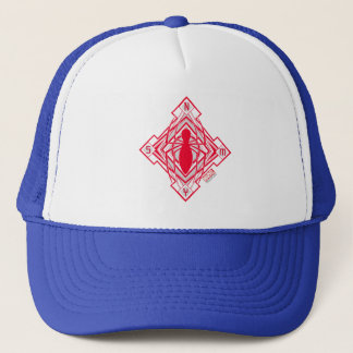 Spider-Man Art Deco NY Emblem Trucker Hat