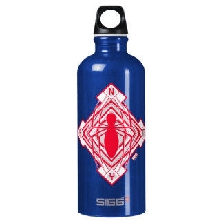 Spider-Man Art Deco NY Emblem Water Bottle