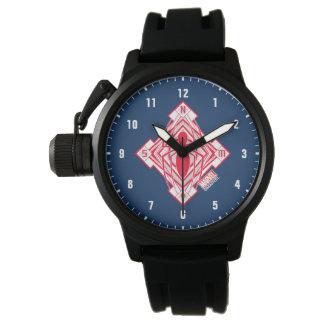 Spider-Man Art Deco NY Emblem Wrist Watches