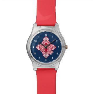 Spider-Man Art Deco NY Emblem Wristwatch