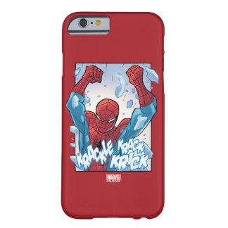 Spider-Man Breaking Glass Barely There iPhone 6 Case