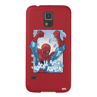 Spider-Man Breaking Glass Galaxy S5 Covers