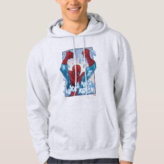 Spider-Man Breaking Glass Hoodie