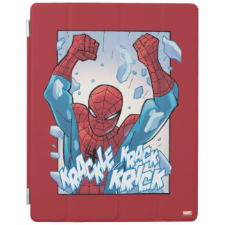 Spider-Man Breaking Glass iPad Cover