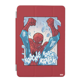 Spider-Man Breaking Glass iPad Mini Cover