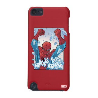 Spider-Man Breaking Glass iPod Touch (5th Generation) Covers