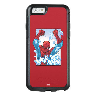 Spider-Man Breaking Glass OtterBox iPhone 6/6s Case