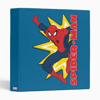 Spider-Man Callout Graphic 3 Ring Binders