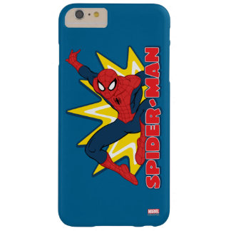 Spider-Man Callout Graphic Barely There iPhone 6 Plus Case
