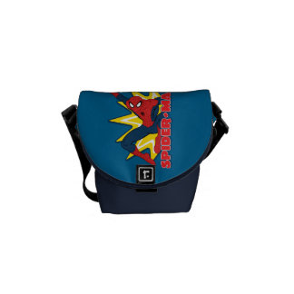 Spider-Man Callout Graphic Courier Bag