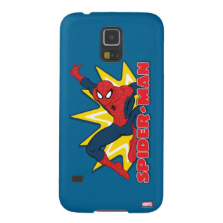 Spider-Man Callout Graphic Galaxy S5 Covers