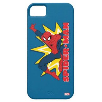 Spider-Man Callout Graphic iPhone 5 Cover
